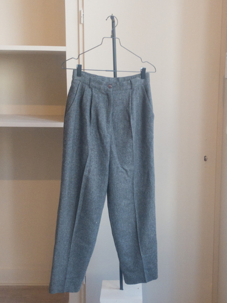 Vintage Wool Pantalon - Grey