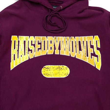 Raised by Wolves SPORTS HOODIE SWEATER - EGGPLANT