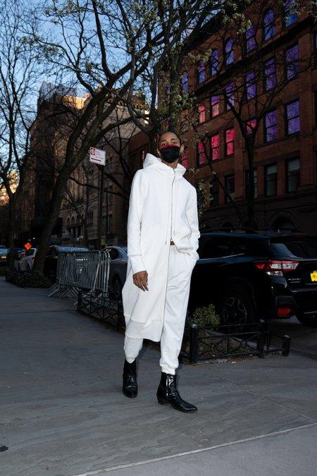 KES Terry Combo Joggers pants - White