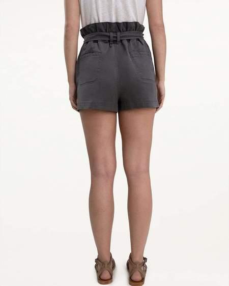 Mabel and Moss Splendid Ryland Paperbag Shorts - gray