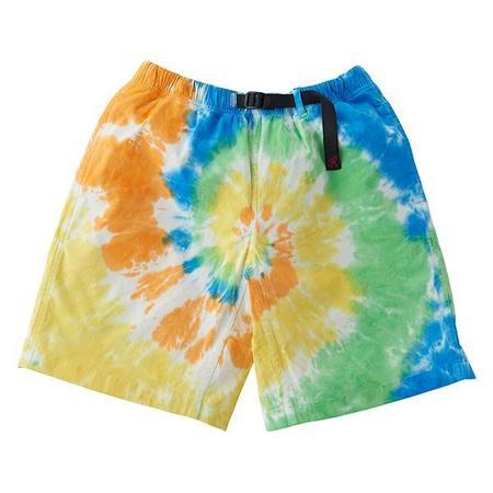 Gramicci Tie Dye G-Shorts - Orange Spiral