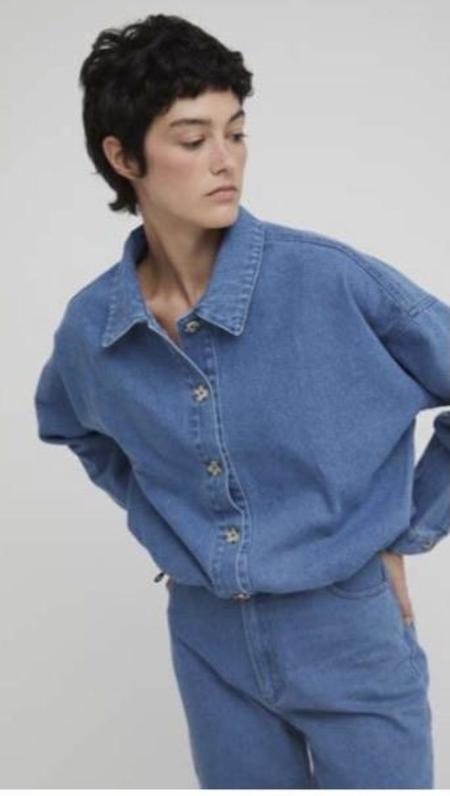 Rita Row Muriel Jacket - Blue Denim