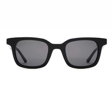 Crap Eyewear The Dropout Boogie Sunglasses - Black/Polarized Grey