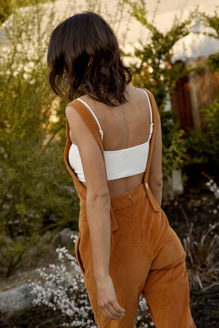 Whimsy + Row Billie Overall - Gold Cord