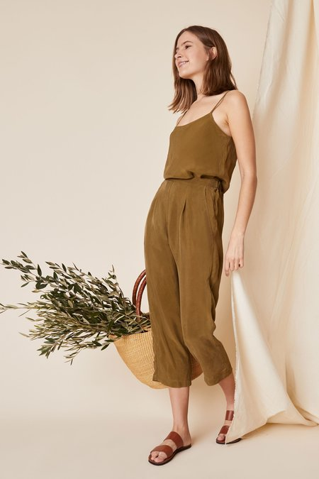Whimsy + Row Dylan Cami - Olive