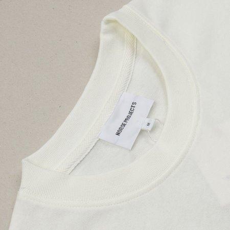 Norse Projects Johannes Pocket T-shirt - Ecru