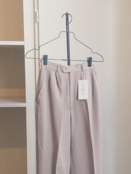 Vintage Pantalon pants - Light Brown