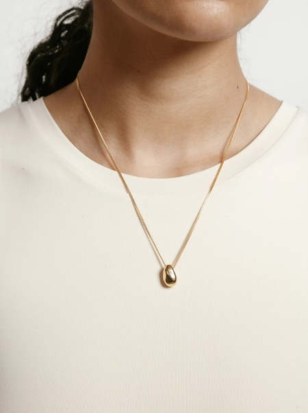 UNISEX Wolf Circus Moe Necklace - 14k gold-plated14k gold vermei/