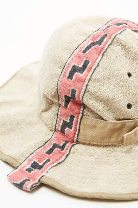 Kapital IRAGO Pile Radio Tulipe HAT - Red