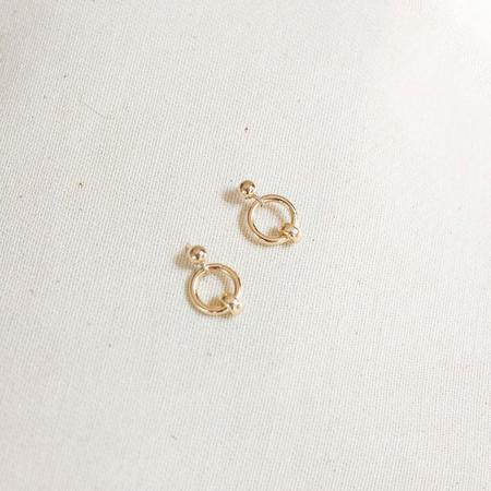 Yam July Stud Earrings - 14k gold filled