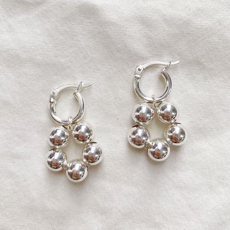 Yam Floret Earrings - Sterling Silver