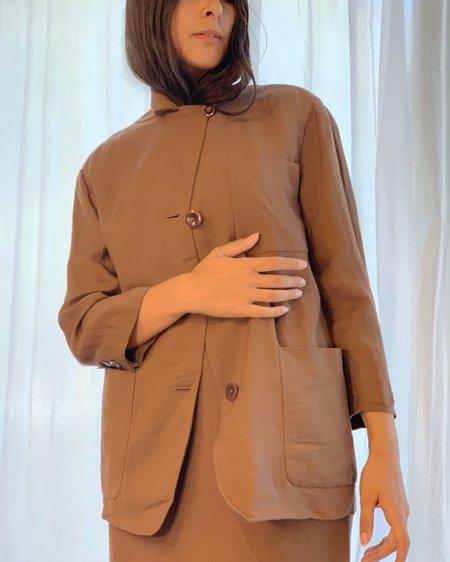 vintage Donna Karan Suit - Cocoa