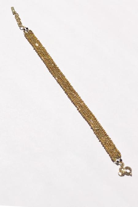 Marie Laure Chamorel Chain Bracelet - Sterling Silver/Gold