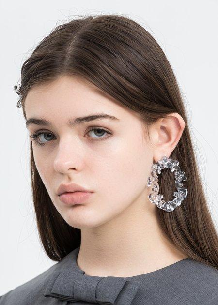 Shushu/Tong Transparent Frame Earring