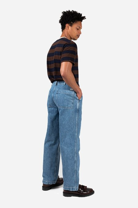 Knickerbocker Patch Pocket Denim trouser - Light Wash