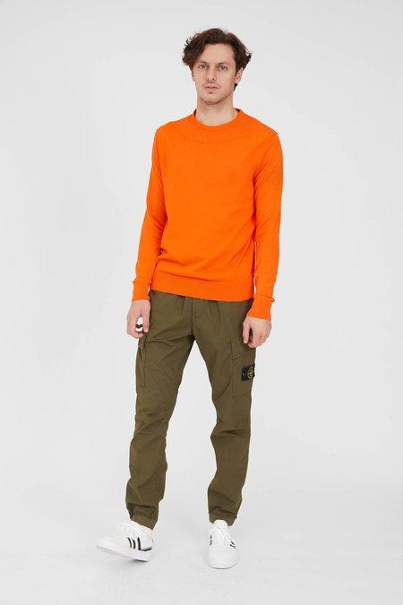 Crew Knit Giza Cotton - Orange