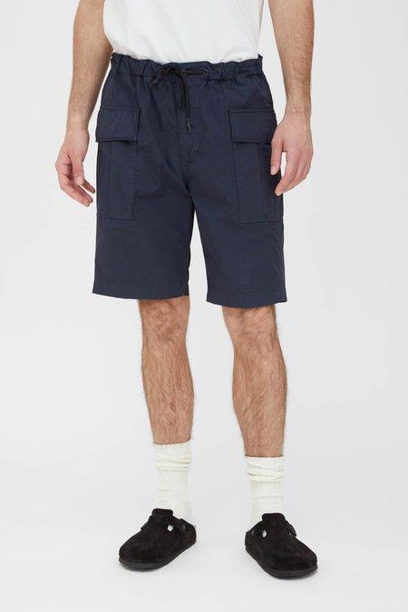 Orslow Easy Cargo Shorts - Navy