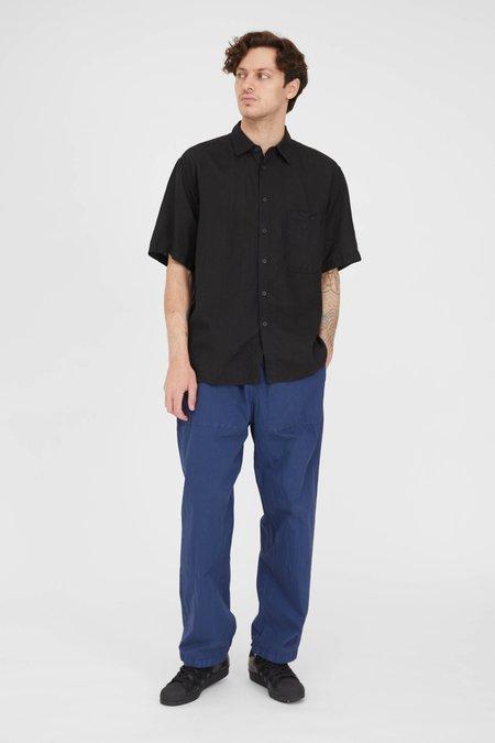 Orslow Loose Fit Short Sleeve Shirt - Black