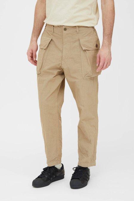 Sage de Cret Cotton Hemp Military Pants - Beige