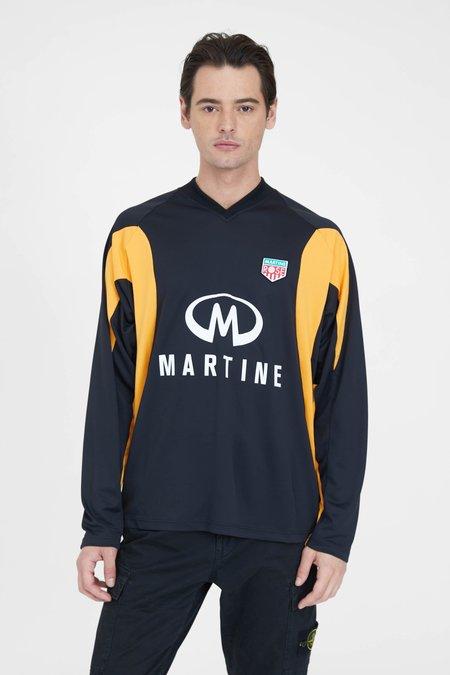 Martine Rose Revels Shirt - Black/Orange