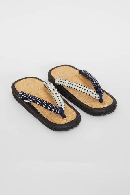FDMTL Sashiko Sandal - Indigo