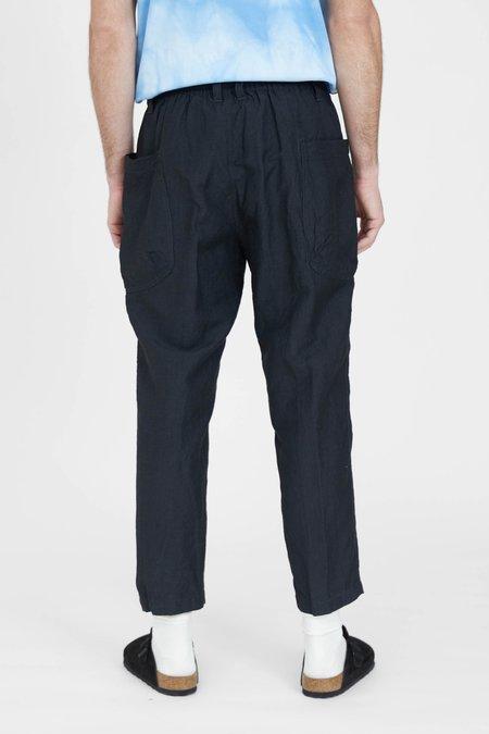 Sage de Cret Linen Work Pants - Charcoal