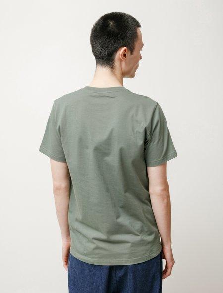 Norse Projects Niels Standard SS t-shirt - Moss Green