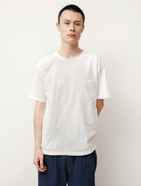 Orslow Pocket T-Shirt - White