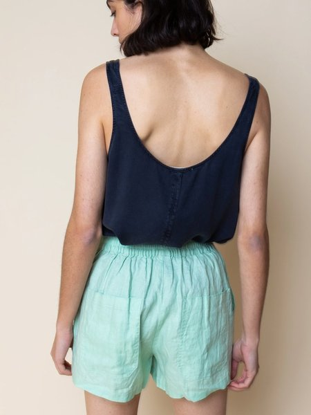 Folk Clothing Folk Scoop Back Vest - Midnight