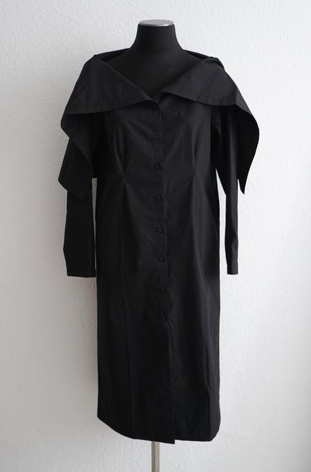 Baserange Lake Dress - Black