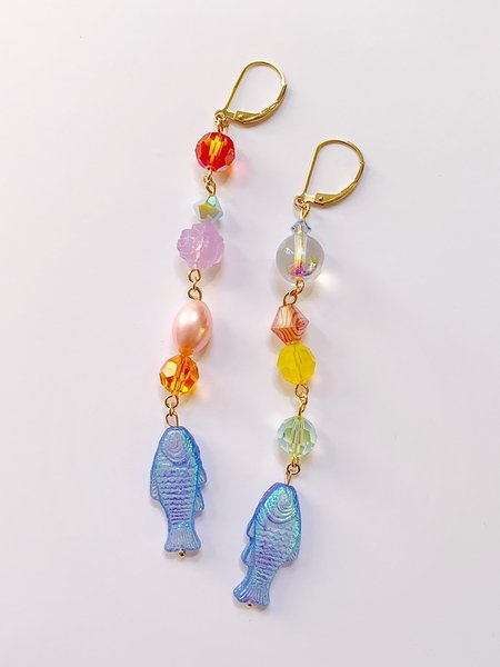 SJO Jewelry Pesce Earrings