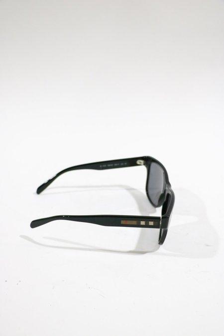 Pre-loved Burberry Polarized Square Frame Sunglasses - black