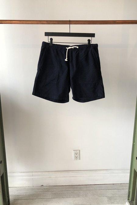 La Paz Formigal Cotton Beach Shorts - Dark Navy
