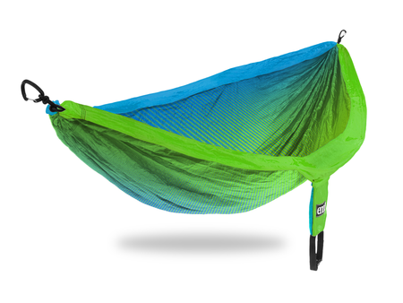 Eno DoubleNest Print Hops - FADED/TEAL/CHARTREUSE