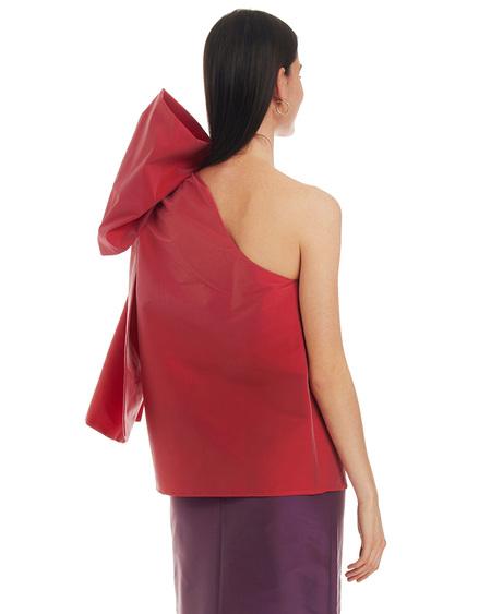 Bernadette Winnie One Shoulder Top - red