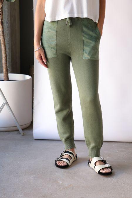 Ser.o.ya Isa Jogger pants - Olive
