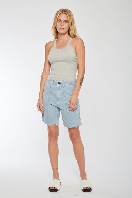 Mother Denim The Private Patch Pocket Shorts - All Aboard
