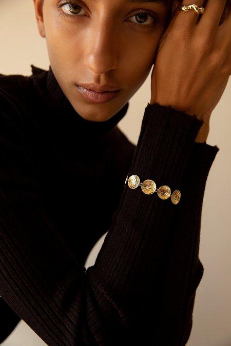 Leigh Miller Saucer Bracelet - Sterling Silver