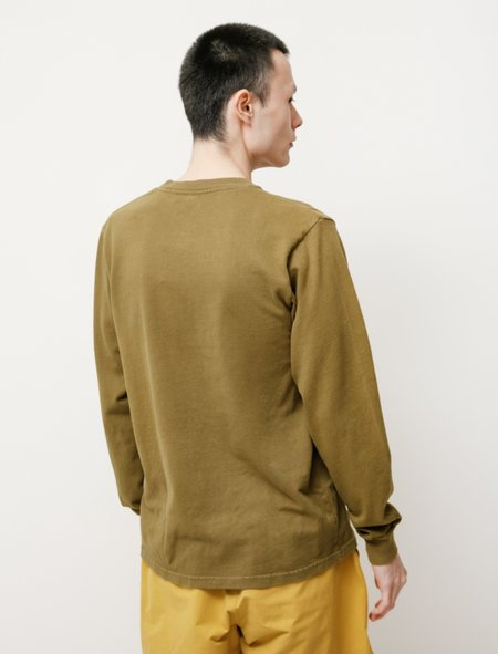 Paa LS Pocket Tee - Army Green