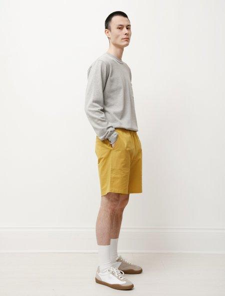 Paa Washi Cotton Shorts - Mustard