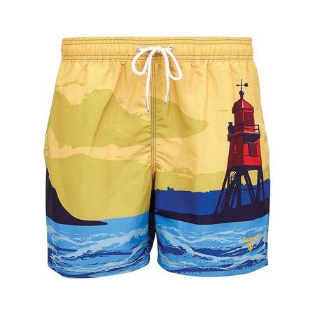 Barbour Beacon Print Swim Shorts