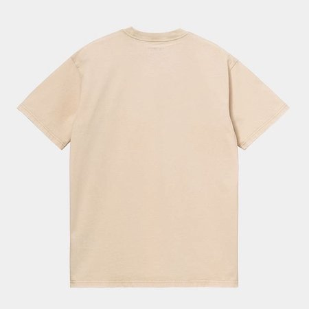 CARHARTT S/S Mosby Script T-Shirt - Dusty Heather Brown