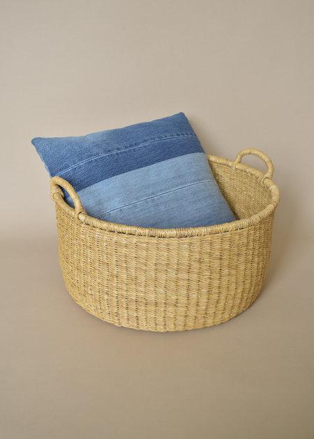 Local Shade Woven Floor Baskets - Natural