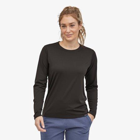 Patagonia Women's Long-Sleeved Capilene® Cool Daily Shirt - Black