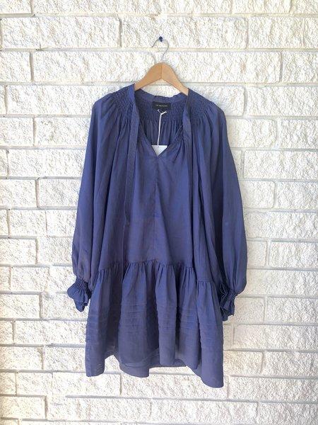 Lee Mathews Soma Tunic Dress - Navy
