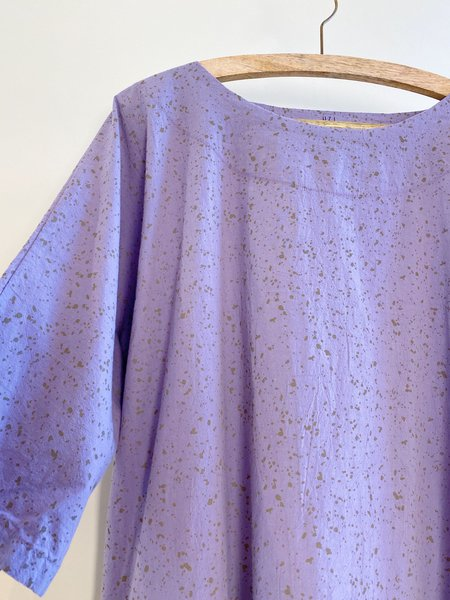 UZI NYC Now Dress - Lavender Speckle