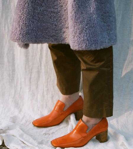 Miista Daya Leather Loafer - Flame