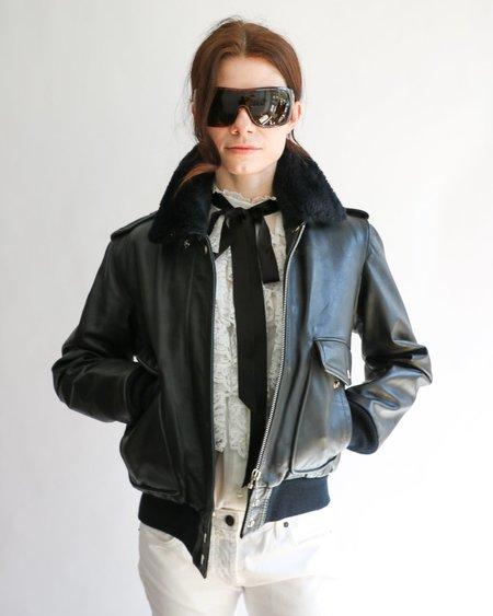 Vintage Hein Gericke for Harley-Davidson Leather Jacket - black