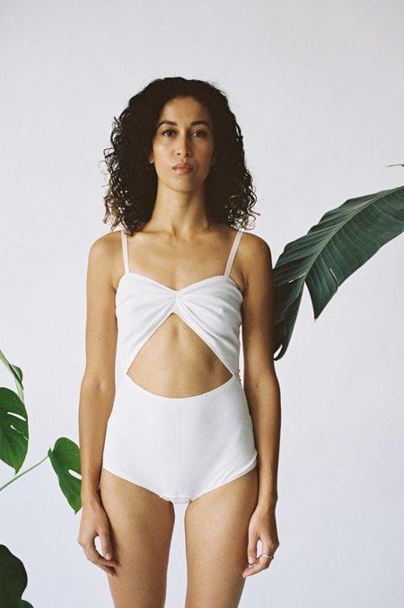 Aniela Parys Marina II Bodysuit - white
