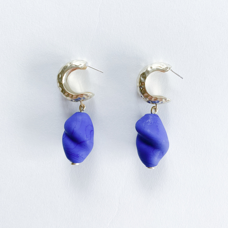 Crescioni alma glass earrings